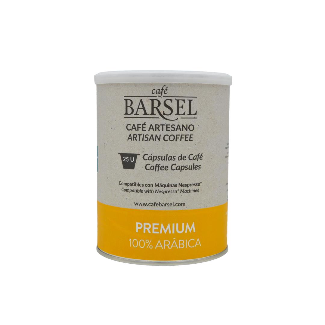 Cápsulas café premium