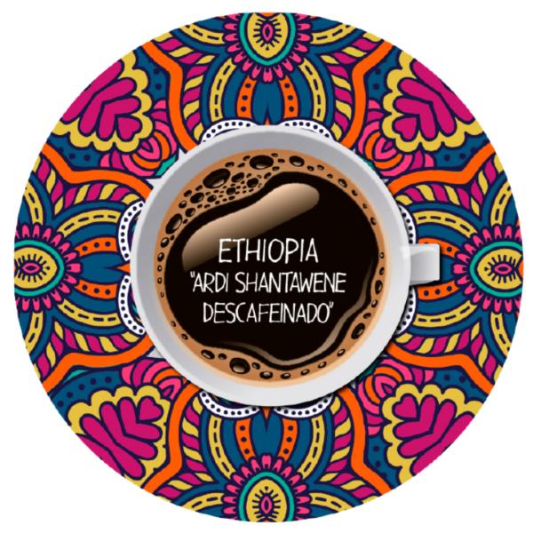 Logo Etiopía Descafeinado