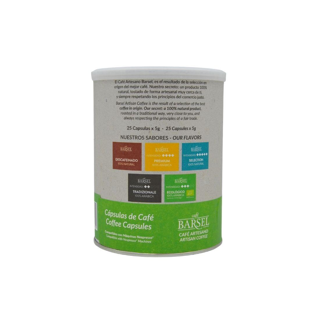 Cápsulas de café ecológico