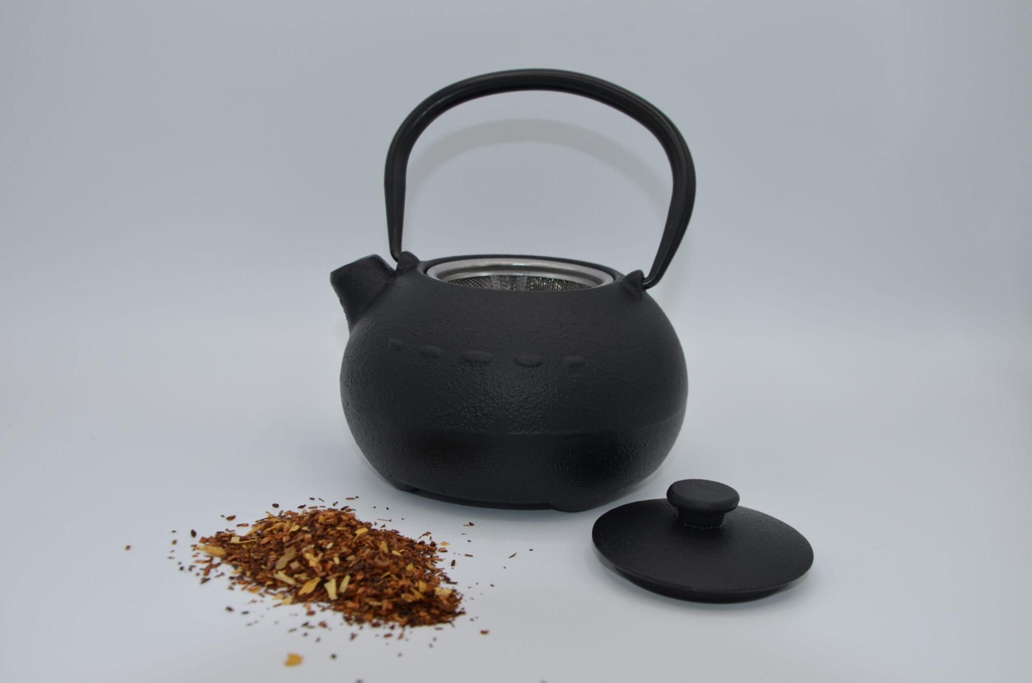 tetera con té