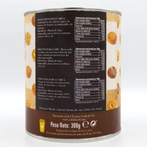 Galletas chocolate y café